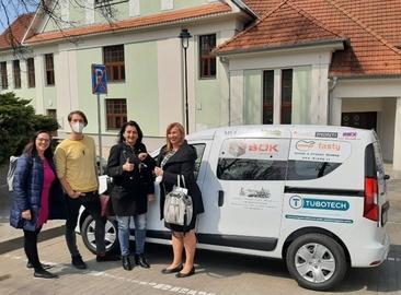 Support of the organization STŘED, z. ú.