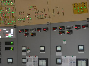 Movement of discharge valve controls in the Dukovany NPP