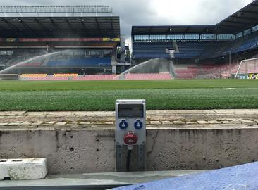 AC Sparta Prague Stadium - Reconstruction of power supply of LED panels