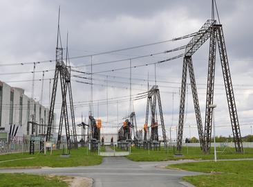 Reconstruction of the 400kV substation at the Dukovany NPP
