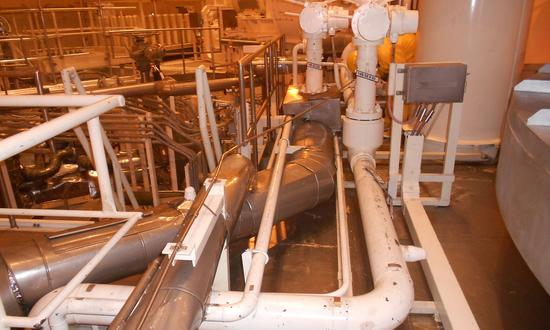 Replacement of NESW cooling pipes in containment of both main production units in the Temelín NPP