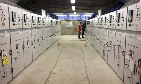 Reconstruction of distribution boards in C202 KAMYR HV substation