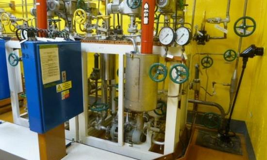 Partial modification to the KHP system (fuel cladding tightness control system) at the Dukovany NPP