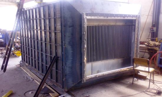 Production of a special tubular heat exchanger