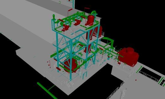 Modernization of the chlorine leakage liquidation system in DIAMO s.p.