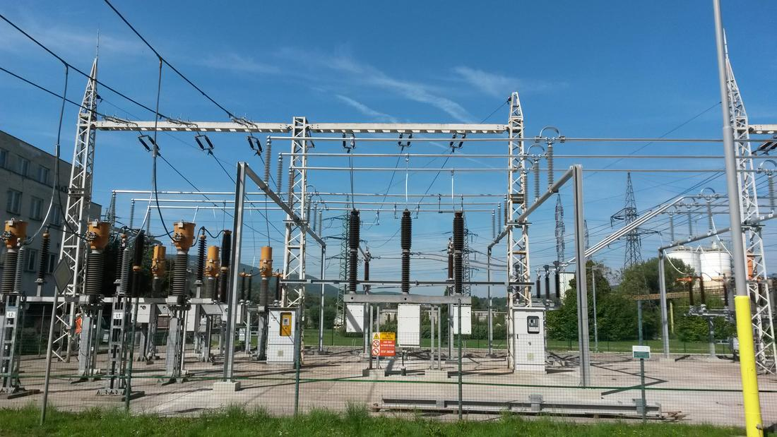 Electrical Substation Transformers Stock Photo - Image of