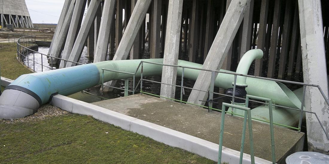 Dukovany NPP – the use of the cooling surface area of the tower