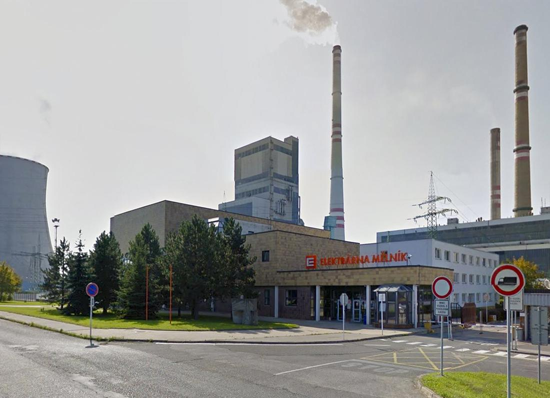 Replacement of gland expansion joints on hot water piping from the Mělník Power Plant to the Třeboratice Heating Plant